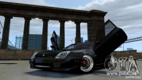 Honda Prelude SiR VERTICAL Lambo Door Kit Carbon pour GTA 4
