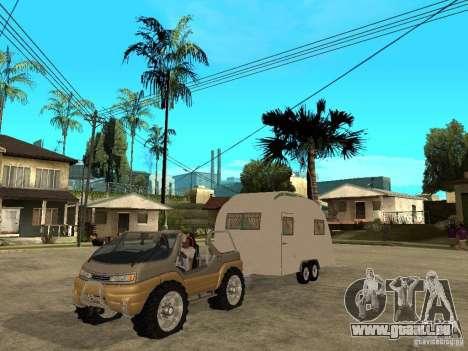 Ford Intruder 4x4 Concept + Caravan für GTA San Andreas