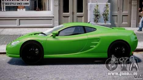 Ascari KZ-1 pour GTA 4 Vue arrière de la gauche