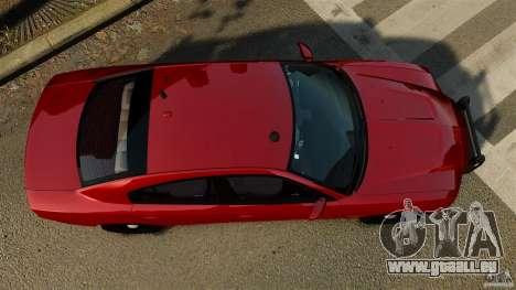 Dodge Charger RT Max FBI 2011 [ELS] für GTA 4 rechte Ansicht