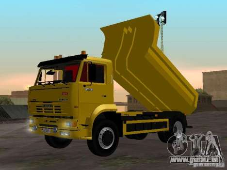 KAMAZ 53605 TAI version 1.1 pour GTA San Andreas