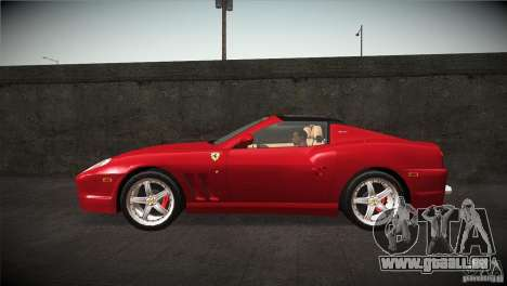 Ferrari 575 Superamerica v2.0 pour GTA San Andreas laissé vue
