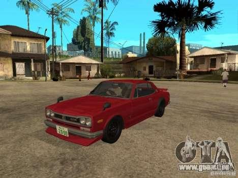 Nissan Skyline 2000 GT-R für GTA San Andreas