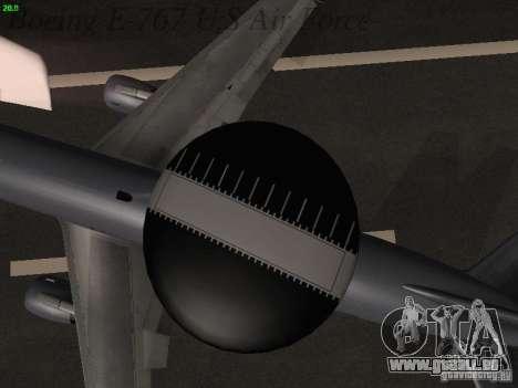 Boeing E-767 U.S Air Force pour GTA San Andreas