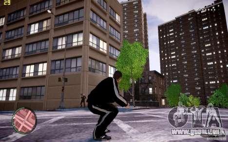 Costume de ADIDAS pour GTA 4 cinquième écran