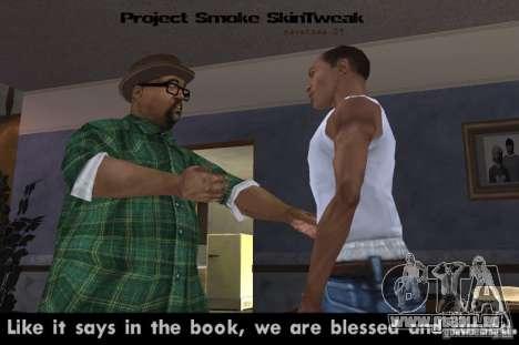 Reteksturizaciâ Zeichen für GTA San Andreas zweiten Screenshot