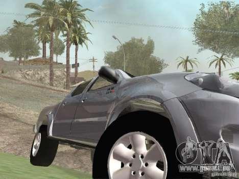 Toyota Hilux pour GTA San Andreas vue intérieure