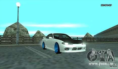 Nissan Silvia S15 Stance pour GTA San Andreas laissé vue
