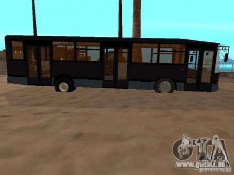 VOLZHANIN 5270 pour GTA San Andreas sur la vue arrière gauche