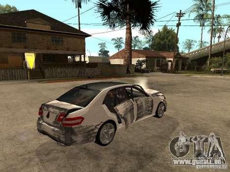 Mercedes-Bens e63 AMG für GTA San Andreas Seitenansicht