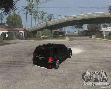 Mercedes-Benz GL500 SE pour GTA San Andreas vue de droite