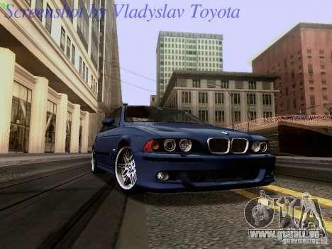 BMW E39 M5 2004 pour GTA San Andreas