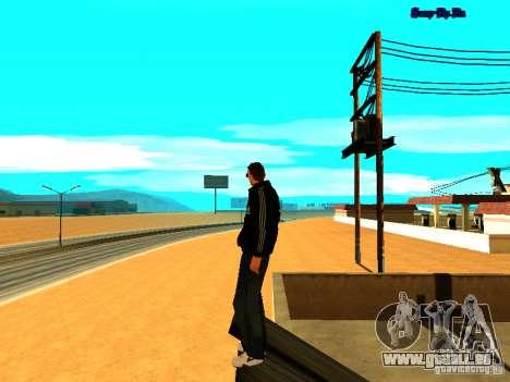 Nouvelle peau pour Gta San Andreas pour GTA San Andreas troisième écran