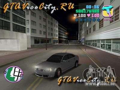 AUDI RS6 für GTA Vice City