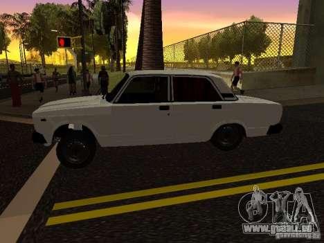 VAZ 2107 Avtosh Style für GTA San Andreas linke Ansicht