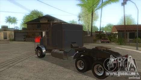 Phantom von GTA IV für GTA San Andreas zurück linke Ansicht