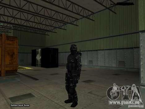 New Army pour GTA San Andreas quatrième écran