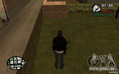Alex Mercer für GTA San Andreas fünften Screenshot