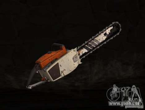 Chainsaw für GTA San Andreas zweiten Screenshot