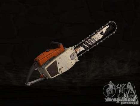 Scie à chaîne pour GTA San Andreas deuxième écran