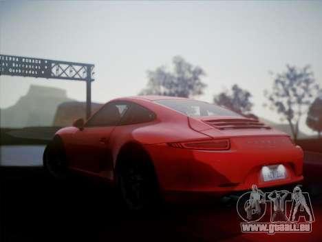 Porsche 911 (991) Carrera S pour GTA San Andreas laissé vue