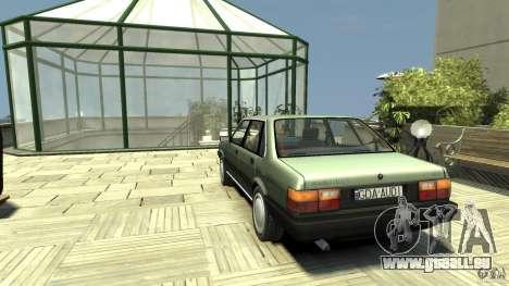 Audi 80 B2 pour GTA 4 Vue arrière de la gauche