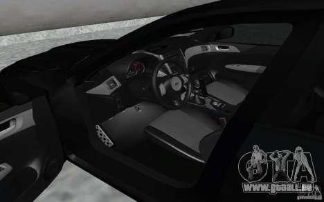 Subaru Impreza für GTA San Andreas Rückansicht