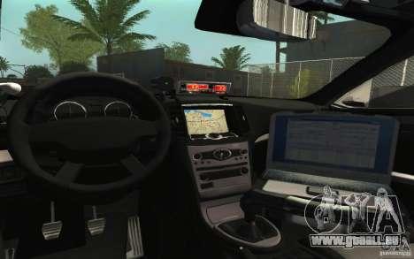 Ford Taurus 2011 LAPD Police pour GTA San Andreas vue de côté