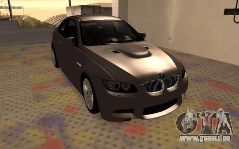 BMW M3 E92 für GTA San Andreas linke Ansicht