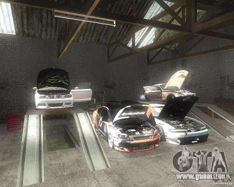 BMW 135i Hella Drift pour GTA San Andreas vue intérieure