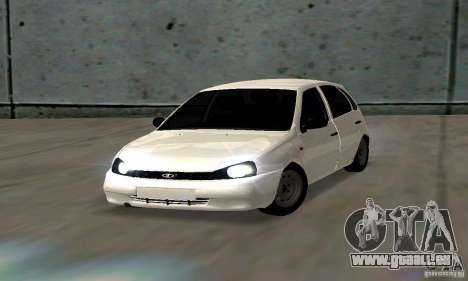 Lada Kalina Hatchback Stock pour GTA San Andreas