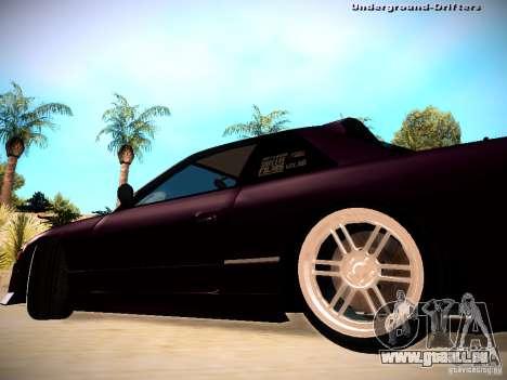 Nissan Silvia S13 Tandem Of DIE für GTA San Andreas zurück linke Ansicht