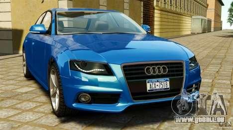 Audi A4 2010 pour GTA 4