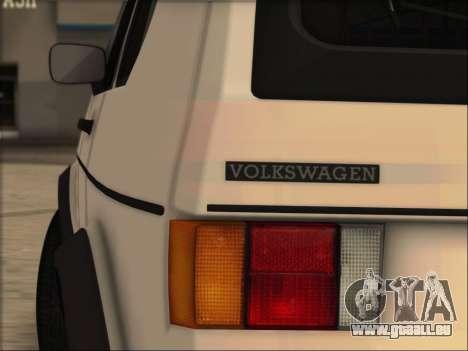 Volkwagen Golf MK1 Stock für GTA San Andreas linke Ansicht