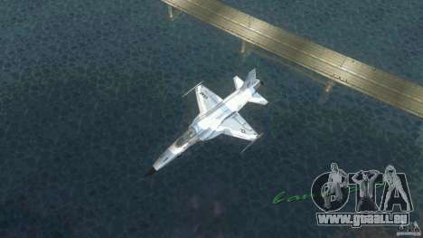 US Air Force für GTA Vice City zurück linke Ansicht