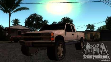 Chevrolet Silverado 1996 pour GTA San Andreas