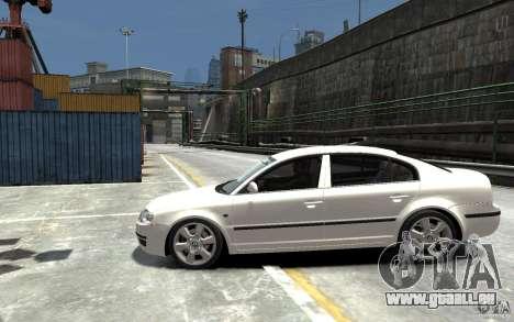 Skoda SuperB für GTA 4 linke Ansicht