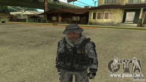 Captain Price für GTA San Andreas