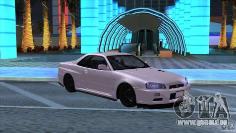 Nissan Skyline GTR-34 M-spec Nur für GTA San Andreas