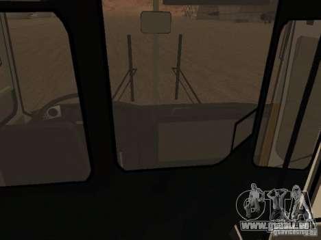 IKARUS 280.46 pour GTA San Andreas vue intérieure