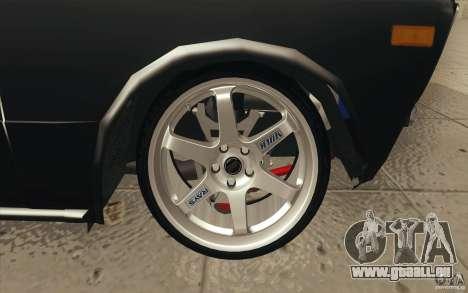 L'écoute de Drift Lada VAZ 2106 pour GTA San Andreas roue
