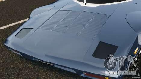 Lancia Stratos v1.1 für GTA 4 Innenansicht