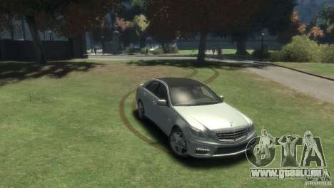 Mercedes Benz E63 AMG v2.0 pour GTA 4 est un droit