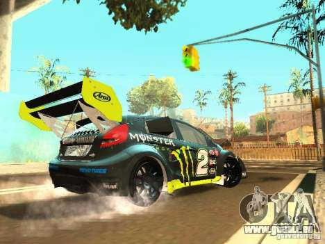 Ford Fiesta Rally Time pour GTA San Andreas vue de droite