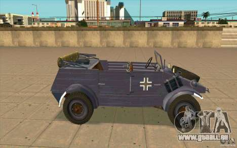 Kuebelwagen v2.0 normal für GTA San Andreas linke Ansicht