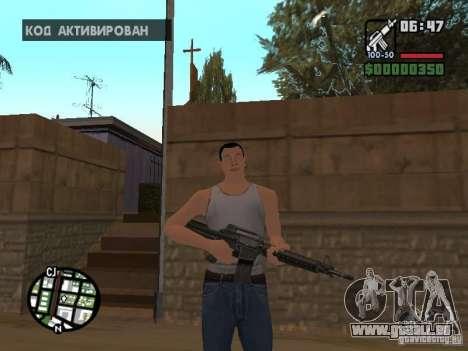 Haut für CJ-Cool guy für GTA San Andreas her Screenshot