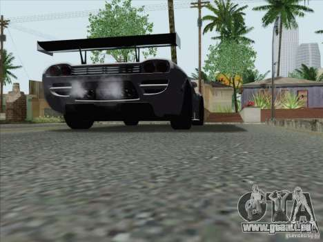 Saleen S7 Twin Turbo Competition Custom für GTA San Andreas zurück linke Ansicht