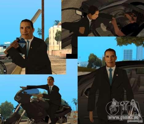 Barack Obama dans la région du grand Toronto pour GTA San Andreas