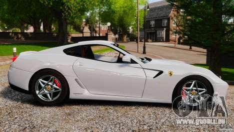 Ferrari 599 GTB Fiorano 2006 für GTA 4 linke Ansicht