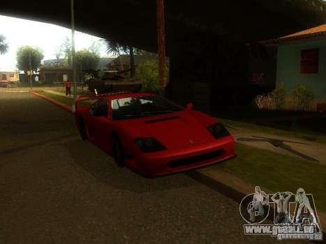 New Car in Grove Street für GTA San Andreas her Screenshot